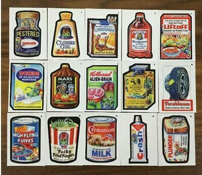 2019 Topps Wacky Packages On Demand Mars Attacks Complete Set 15/15 NM