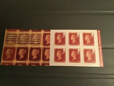 Gb 2016 The 175 Th Anniversary Of The Penny Red Stamp Booklet