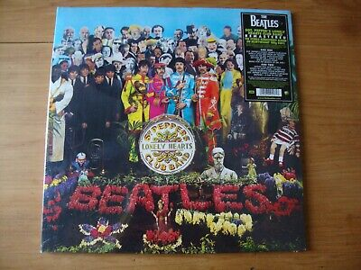 THE BEATLES SGT Peppers Lonely Hearts Club Band SEALED Remastered 2012
