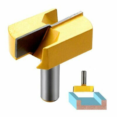 Groove Bottom Cleaning Bit Double Flute Straight Router Bit w Bearing carbide