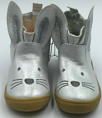 Toddler Girls Metallic Bunny Boots with Glitter - Cat & Jack-Various Sizes