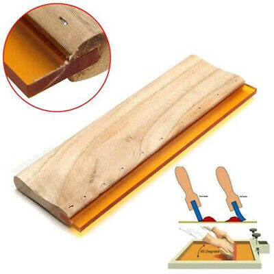 Screen Accessories Printing Ink Scraper Rabbler Blade Tools Wood Handle