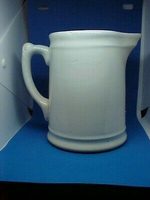 EARLY HOMER LAUGHLIN WHITE IRONSTONE SMALL PITCHER ANTIQUE Early 1900's