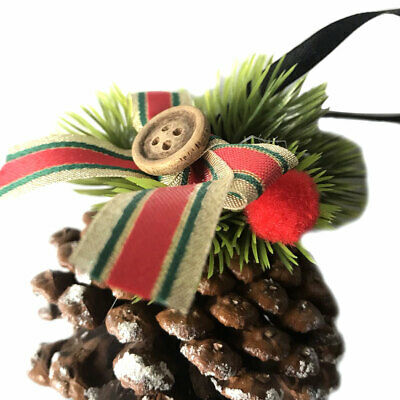 Christmas Decor Craft Florists Natural Pine Cone DIY Eco Friendly Dried Party