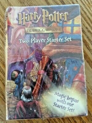 Harry Potter Trading Card Game Two Player Starter Set Sealed 2001