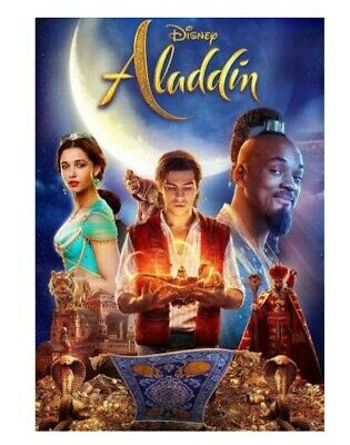 WILL SMITH Aladdin (DVD 2019 1-DISC) Live Action - Brand New