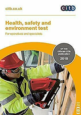 Health, safety and environment test for operatives and specialists 2018: GT100/1