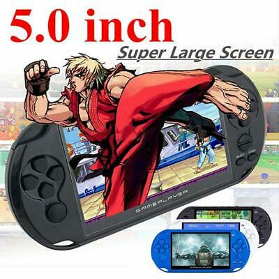 X9 Rechargeable 5.0 inch 8G Handheld Retro Game Console Video MP3 Player Camera
