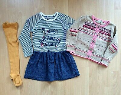 Worn once Next beautiful outfit  3-4y