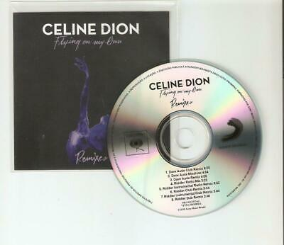 """Celine Dion """"Flying On My Own"""" New 8 Remix Brazilian Cd Promo"""