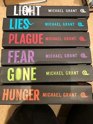 michael grant gone series 6 Fiction Books