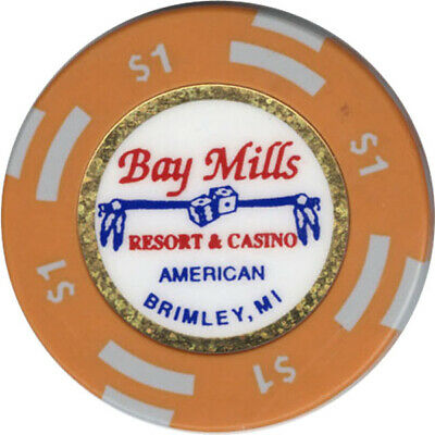Bay Mills - $1 Casino Chip (American)