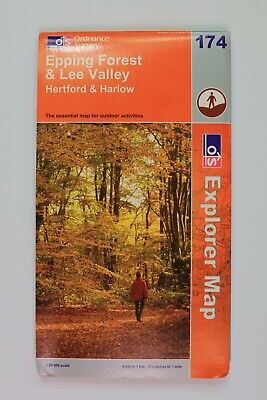 Epping Forest & Lee Valley by Ordnance Survey Explorer No.174