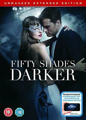 Fifty Shades Darker Unmasked Edition [DVD + Digital Copy] [2017], New, DVD, FREE