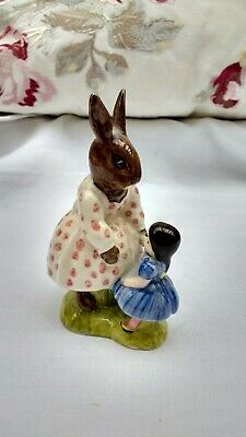 Royal Doulton Vintage Dollie Bunnykins No Box Playtime DB8 1972