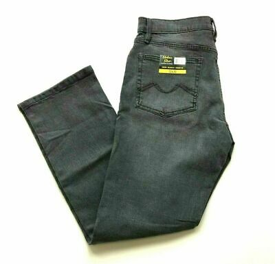 Urban Star Men's Stretch Relaxed Fit Straight Leg Jeans Gray 34X32 New