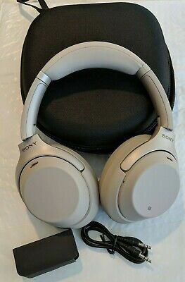 Sony WH-1000XM3 SLIVER Wireless Noise Canceling Headphones - FREE SHIPPING