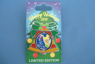 TINKER BELL Contemporary Resort   Disney Pin 2019 HAPPY HOLIDAYS BELL LE New