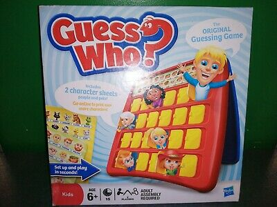 Hasbro Guess Who Guessing Game Kids 6+ 2011 Version