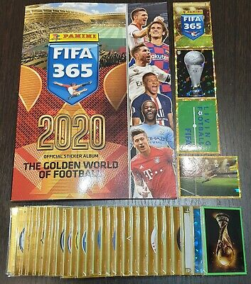 Fifa 365 2020 Full Set Of Stickers 442 And Empty Album- No Extras
