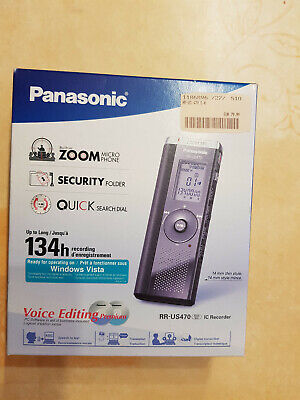 Diktiergerät Panasonic Voice Editing PR-US 470