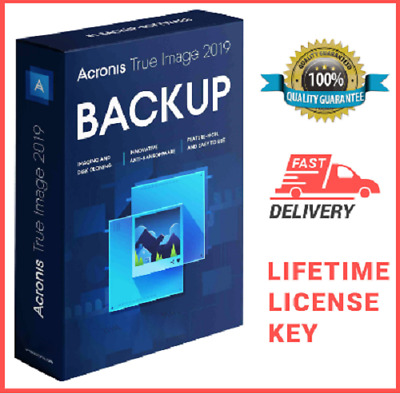 🔥🔥Acronis True Image 2019 ISO - Boot  ☑Lifetime Versione☑Fast Delivery 🔥🔥