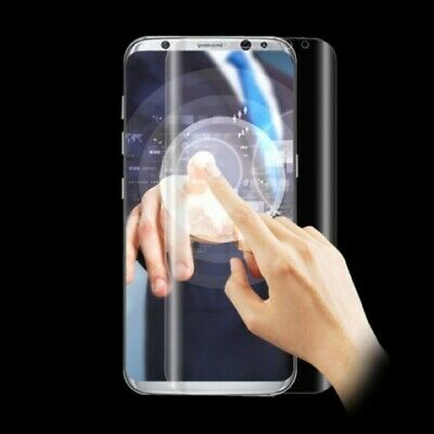 Full Coverage Curved HD Clear Cover Screen Protector Film for Samsung S8 #8