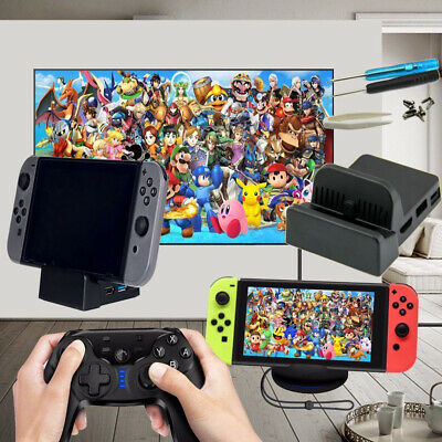 Mini DIY Replacement Dock Case for Nintendo Switch Docking Station Portable  ET