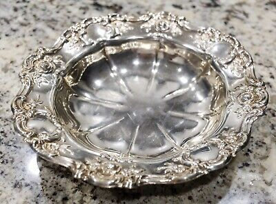 Vintage Silver Plated Candy Dish