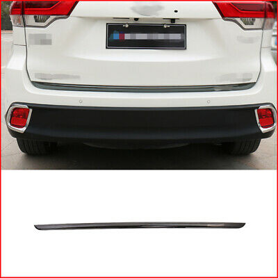 Stainless Steel Rear Trunk Lid For Toyota Highlander 2015-2017 With Smart Hole