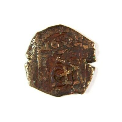 Pirate Treasure Era Spanish Colonial Coin Date 1652 - Exact Lot Shown 2822