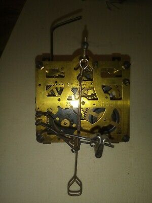 Antique Cuckoo Clock Movement Albert Schwab Karlsruhe West Germany 25 Regula