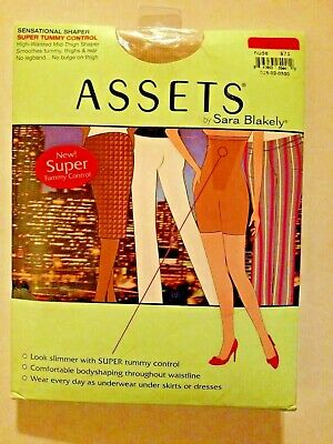 Assets Sara Blakely Spanx Size 1 Nude High Waisted Tummy Control Thigh Shaper