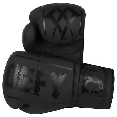 DEFY® Synthetic Leather Boxing Glove Thai Training Punching Bag Sparring Gloves