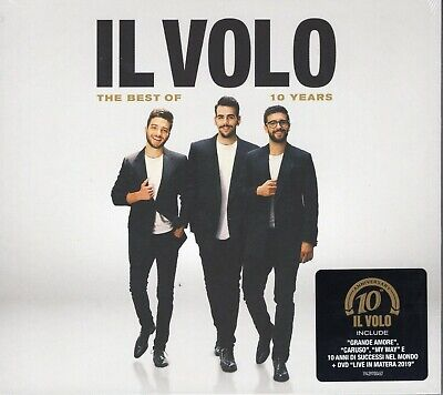IL VOLO - The best of 10 years (lim. edition) (2019) CD + DVD digipack