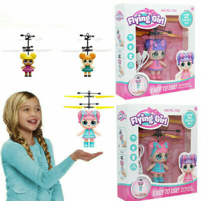 LOL Flying Girls Surprise Doll Magic Infrared Induction Control Toys Xmas Gifts