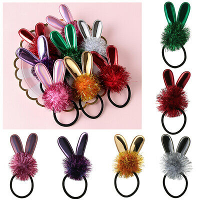Headbands Party Show Kids Hair Band Baby Girl Hair Rope Rabbit Ears Elastic