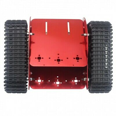 Assembled Tracked Vehicle Tank Chassis Crawler Robot Car w/ DC Motor for Arduino
