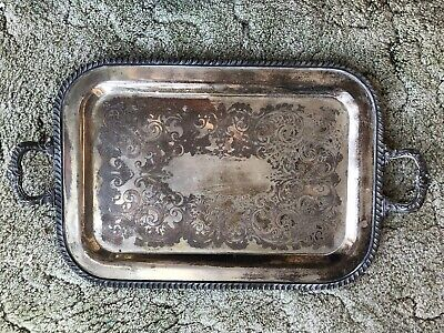 FB Rogers Silver Co 1883 Tray 6174
