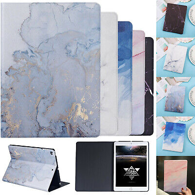 Color Marble Smart Magnetic Stand Flip Case for iPad 10.2 9.7 Air 3rd Mini Cover
