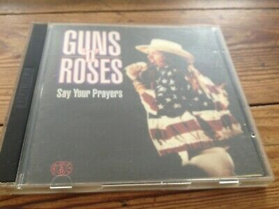 Guns N' Roses 'Say Your Prayers' Rare Live 2Cd Kiss The Stone Records 1992 Italy