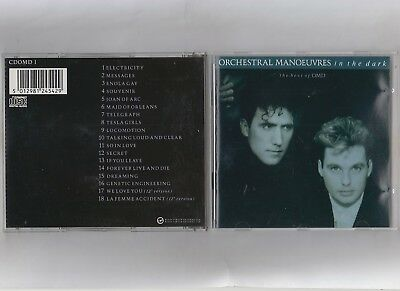 Orchestral Manoeuvres In The Dark  =  {Cd - 18 Tracks}  =  The Best Of Omd  =