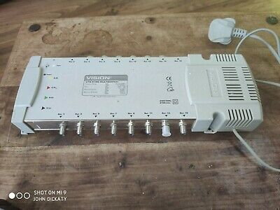 Vision V75-516S satellite lnb Multiswitch in good used condition
