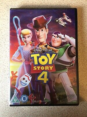 Toy story 4 DVD Brand New In Wrapper Unopened