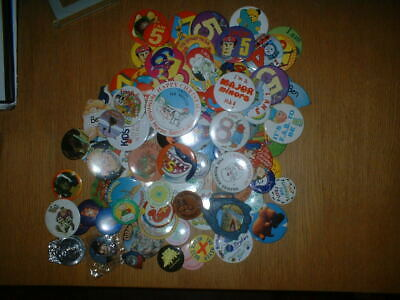 Job Lot Of Collectable Badges