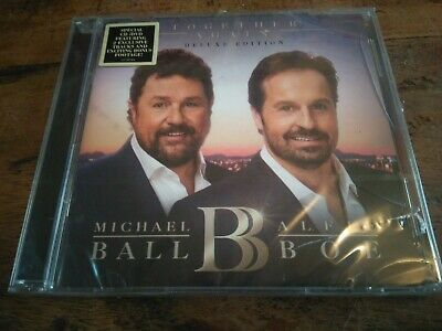 Michael Ball Alfie Boe Together Again Deluxe CD/DVD New