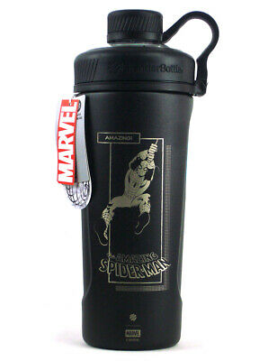 Marvel Blender Bottle The Amazing Spider-Man Radian Black Marvel Stainless Steel