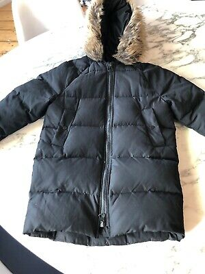 Zara Puffa Padded Black Jacket  Duck Down 10yr