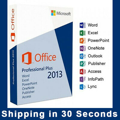 Office 2013 Professional Plus - Product Key - Multilanguage