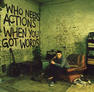 Plan B Who Needs Actions When You Got Words Grime Parental Advisory Cd New